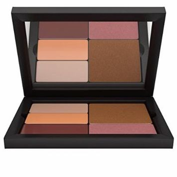 Contour/Highlight Blush Bronzer Makeup Palette: Medium Complexion