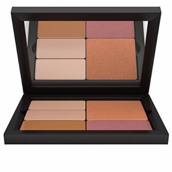 Contour/Highlight Blush Bronzer Makeup Palette: Light Complexion