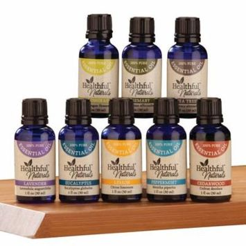 HealthfulTM Naturals Deluxe Essential Oil Kit