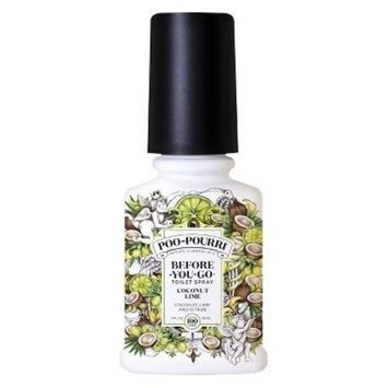 2oz Target Exclusive Toilet Spray Coconut Lime - Poo-Pourri