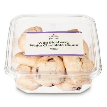 Blueberry White Chocolate Scone Tiny Treats Donuts And Pastries - Archer Farms™