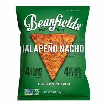 Beanfields Bean Chips, Jalapeño Nacho, 1.5 Oz