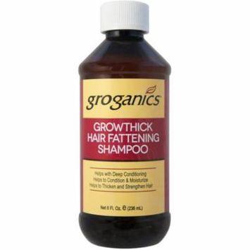 6 Pack - Groganics Growthick Hair Fattening Shampoo 8 oz