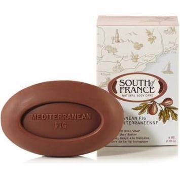 6 Pack - South of France Bar Soap, Mediterranean Fig 6 oz