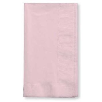 Creative Converting 50-Count Touch of Color Paper Dinner Napkins, Classic Pink []