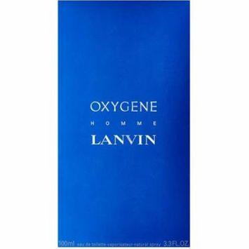 4 Pack - Lanvin Oxygene Eau De Toilette Spray For Men 3.3 oz