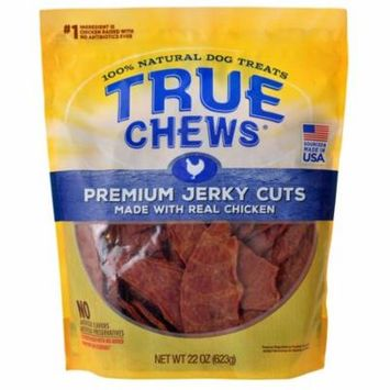 True Chews Premium Jerky Cuts with Real Chicken 22 oz