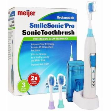 Meijer Sonic Pro Rechargeable Electric Toothbrush