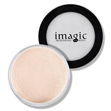 IMAGIC Long Lasting Loose Powder Waterproof Matte Setting Powder Concealer Light Powder Mineral Makeup