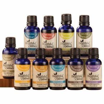 HealthfulTM Naturals Premium Essential Oil Kit