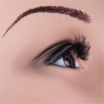 OUTAD 12 Pairs Women Fashion Makeup Handmade Black Natural Long False Eyelashes