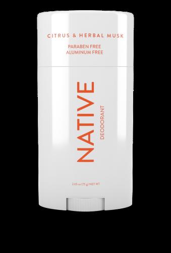 Native Citrus & Herbal Musk Deodorant - 2.65oz