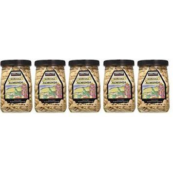 Kirkland OHsAHd Marcona Almonds, Roasted and Seasoned with Sea Salt, 17.63 Ounce (5 Pack)