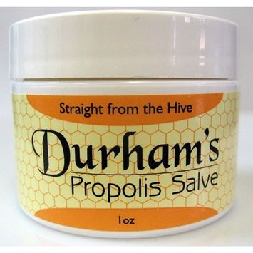 Treat chapped lips with Durham's Propolis Salve - Effectively protect and prevent dry cracked lips! Also great for chapped or cracked skin on elbows.