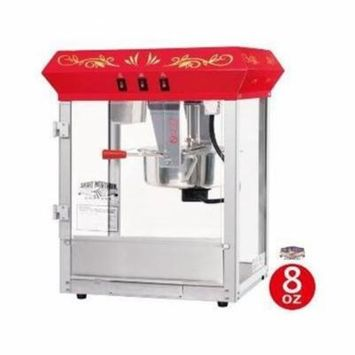 Great Northern 8 ounce Foundation Red Red Eight Ounce Foundation Popcorn Machine Top