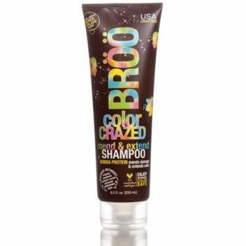 BROO Craft Beer Color Crazed Shampoo, Mends and Extends Color, 8.5 oz