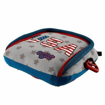 BubbleBum Backless Booster Car Seat - Stars and Stripes