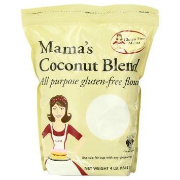 Gluten Free Mama: Gluten Free Coconut Blend Flour - 4lb Bag