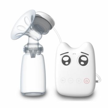 150ml Silicone Electric Breast Pump Breast Pump,Milk Suckers Postpartum Feeding Nursing Bottle White