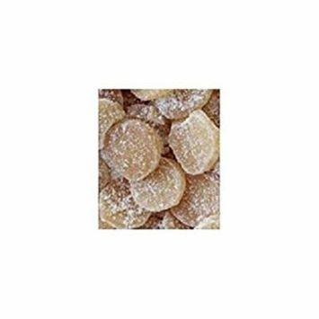 Bulk Dried Fruit Organic Crystallized Ginger Medallions Case of 11 1 lb.