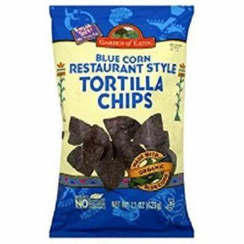 Garden of Eatin Tortilla Chips Blue Corn Case of 10 22 oz.