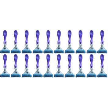 Schick Hydro 5 Blades Silk Women Disposables Razors - Lot of 20 - Bulk Packaging