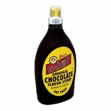 Foxs U Bet U Bet Chocolate Syrup U Bet Chocolate Case of 12 22 oz.