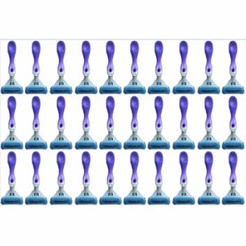 Schick Hydro 5 Blades Silk Women Disposables Razors - Lot of 30 - Bulk Packaging