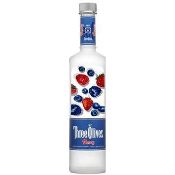 Proximo Spirits Inc Three Olives Berry Vodka, 750 mL.