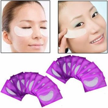 20pcs Comfortable Natural Women Under Eye Pads Patches Anti-Wrinkle Dark Circle Remove Eye Patches Pad Mask Makeup Tool