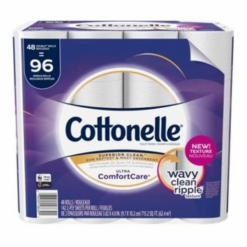 Cottonelle Ultra GentleCare 48 Double Rolls, Toilet Paper, Sensitive