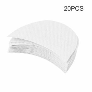 20pcs Professional Eyeshadow Shields Under Eye Patches Disposable Eyelash Extensions Pads Protect Pad Eyes Lips Makeup Tool