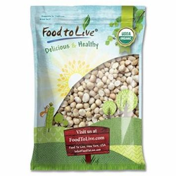 Food To Live ® Organic Macadamia Nuts (Raw) (18 Pounds)