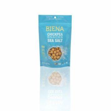 Biena, Chickpeas SeaSalt Snacks, 8 Ct