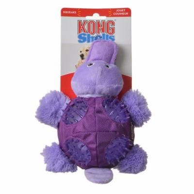 Kong Shells Textured Dog Toy - Platypus Medium - 1 Pack - Pack of 12