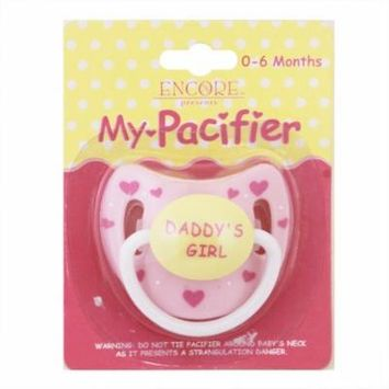 Pink Pacifier with hearts