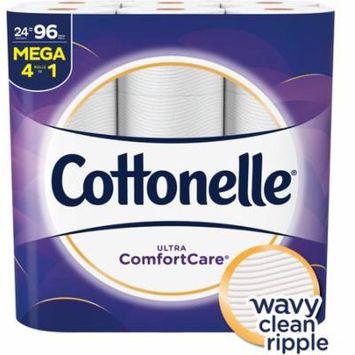 Cottonelle Ultra Comfort Care, 24 Mega Rolls, Toilet Paper