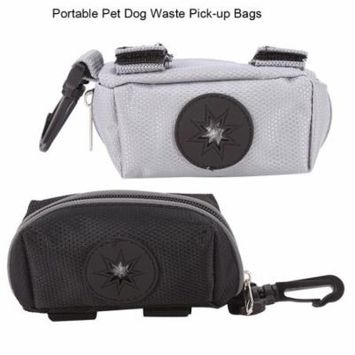 2Colors Portable Puppy Cat Dog Pet Waste Poop Bag Holder Carrier Pouch , Dog Waste Bag Holder,Pet Poop Bag Holder