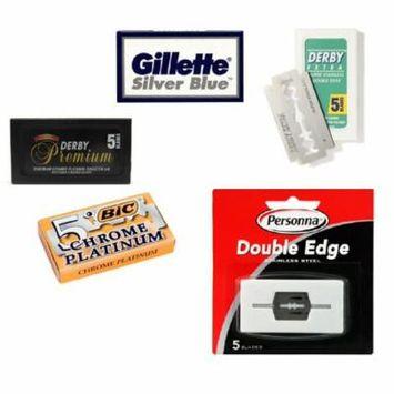 Double Edge Safety Razor Blade Sampler: FREE Eyebrow Trimmer