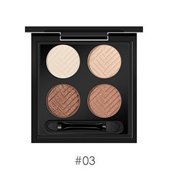 KaiCran Eyeshadow Palette 4 Colors Eye Shadow Make Up Waterproof Eye Shadow Palette Cosmetics