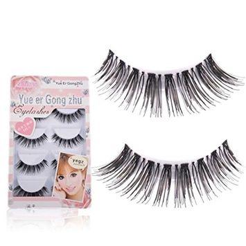 Usstore 5 Pair Crisscross False Eye Lash Eyelashes Hand Made Makeup