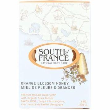 2 Pack - South of France Orange Blossom Honey Bar Soap 6 oz