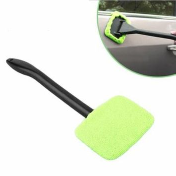 Portable Plastic Windshield Easy Cleaner Easy-microfiber Clean Window On Your Car Or Home Washable Fast Easy Shine Handy