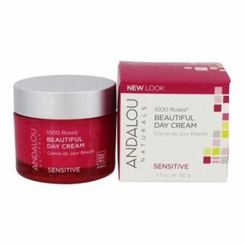 1000 Roses Beautiful Day Cream - 1.7 oz. by Andalou Naturals (pack of 1)