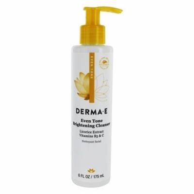 Even Tone Brightening Facial Cleanser - 6 fl. oz. by DERMA-E (pack of 6)