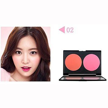 KingWo NOVO Professiona Blush Palette Face Makeup Baked Cheek Color Blusher Make Up Tool