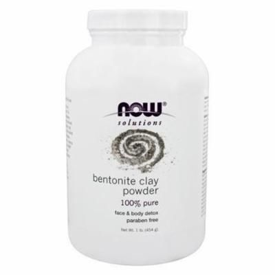 Bentonite Clay Powder - 1 lb. by NOW Foods (pack of 3)