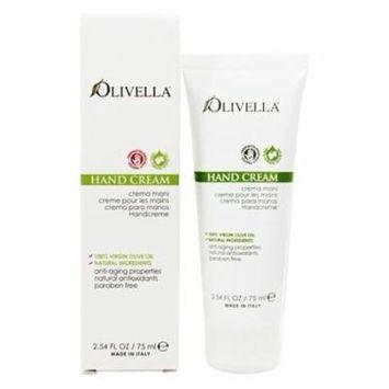 Virgin Olive Oil Hand Cream - 2.54 fl. oz. by Olivella (pack of 2)