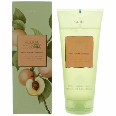 Acqua Colonia White Peach & Coriander 6.8oz Shower Gel for Unisex