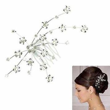 Girl12Queen Women Fashion Rhinestone Wedding Bridal Princess Crown Hair Jewelry Accessories